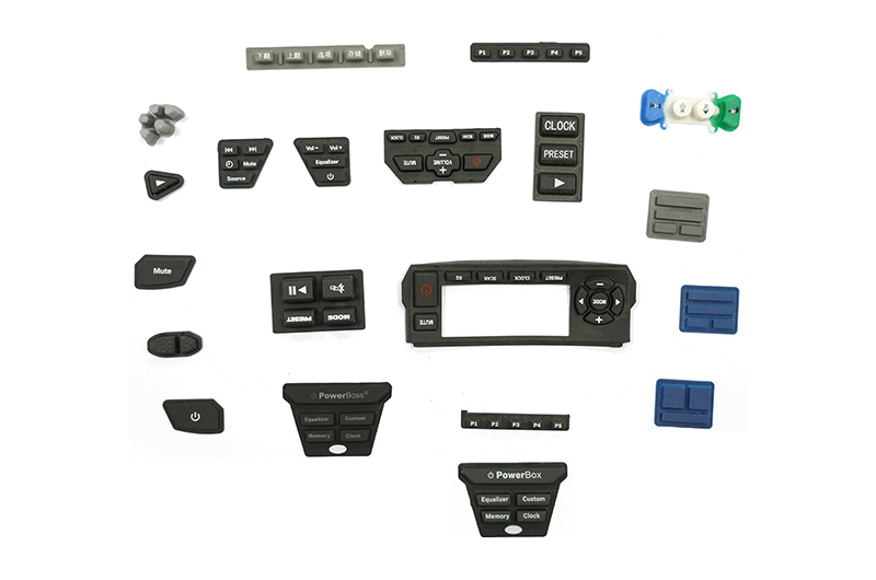 KSD-11 All kinds of rubber buttons and silicone buttons