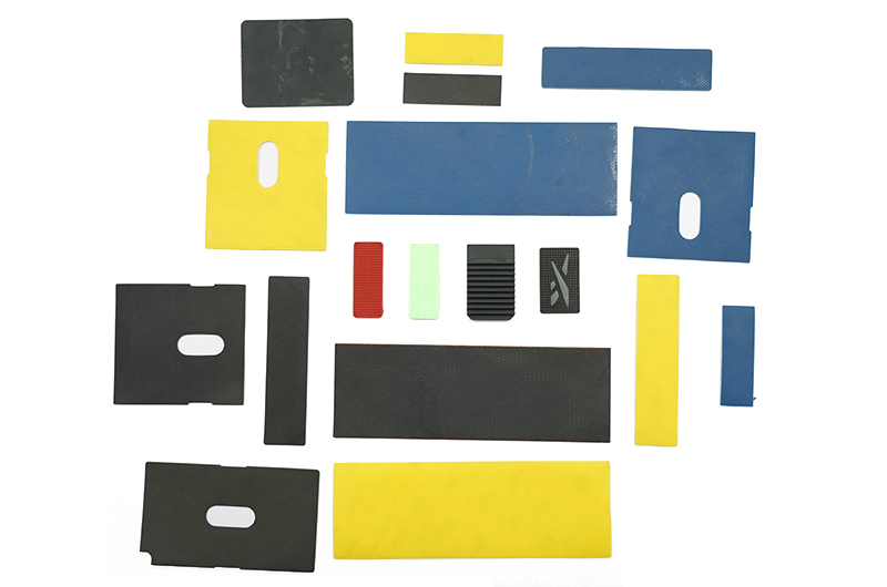 KSD-01 Various types of die-cut and pressed rubber sheets and silicone sheets (with / without 3M tape)